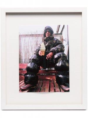 Постер Skepta (41 см x 34.5 см) с декором из кристаллов Browns The Dan Life. Цвет: 108 - разноцветный: