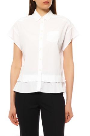 Блуза Bogner. Цвет: белый