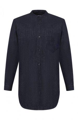 Джинсовая рубашка Giorgio Armani. Цвет: синий