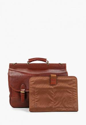 Портфель Dr.Koffer MB. Цвет: коричневый