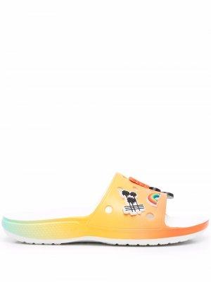Шлепанцы Free & Easy Crocs. Цвет: оранжевый