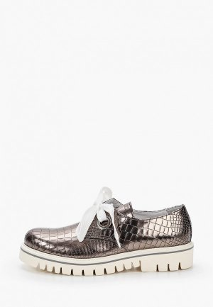 Ботинки Dino Bigioni. Цвет: серебряный