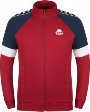 Олимпийка мужская , размер 46 Kappa. Цвет: красный