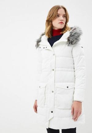 Куртка утепленная Emporio Armani. Цвет: белый