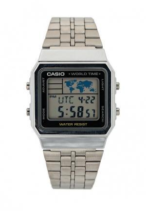 Часы Casio Collection A-500WEA-1E. Цвет: серебряный
