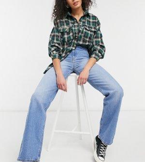Голубые джинсы с широкими штанинами Echo-Голубой Dr Denim Tall