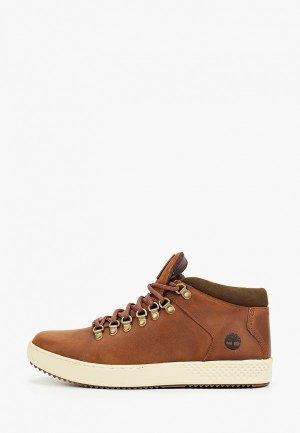 Ботинки Timberland CityRoam Cupsole Alpine Chukka GLAZED GINGER. Цвет: коричневый
