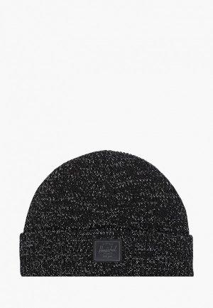 Шапка Herschel Supply Co Abbott Youth. Цвет: черный