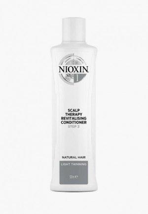 Кондиционер для волос Nioxin система 1, 300 мл. Цвет: белый