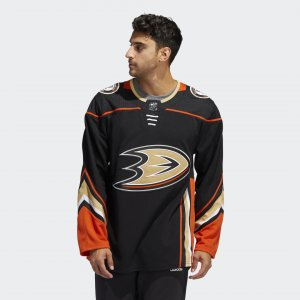 Оригинальный хоккейный свитер Ducks Home Performance adidas. Цвет: черный
