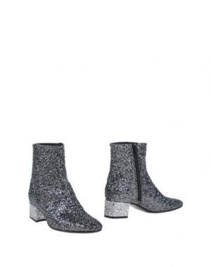 Полусапоги и высокие ботинки CARRARO. Цвет: серебристый