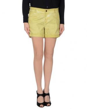 Повседневные шорты FAIRLY. Цвет: светло-зеленый