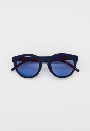 Очки солнцезащитные Hugo HG 1151/S FLL. Цвет: синий