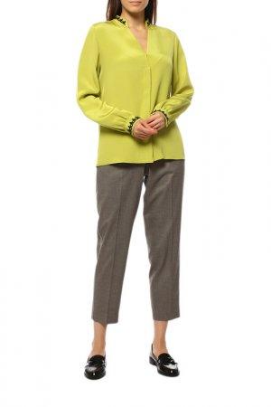 Блуза Etro. Цвет: зеленый