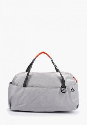 Сумка спортивная adidas W TR ID DUF G. Цвет: серый