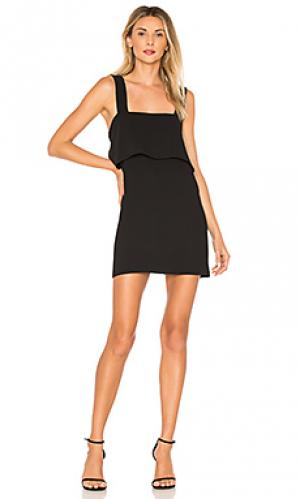 Платье anderson Amanda Uprichard. Цвет: черный