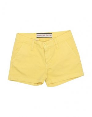 Повседневные шорты BEVERLY HILLS POLO CLUB. Цвет: желтый