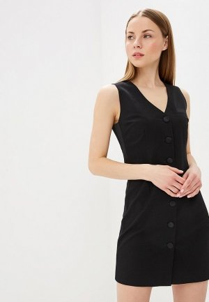Платье Elena Andriadi. Цвет: черный