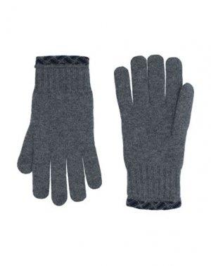 Перчатки DRUMOHR. Цвет: серый