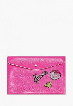Папка Феникс+. Цвет: розовый