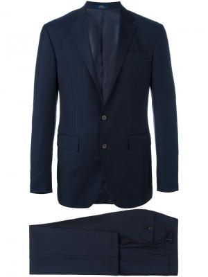 Классический костюм Polo Ralph Lauren. Цвет: синий
