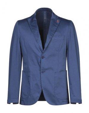 Пиджак FAG. Цвет: пастельно-синий