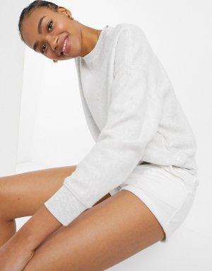 Кремовый флисовый джемпер от комплекта -Белый Billabong