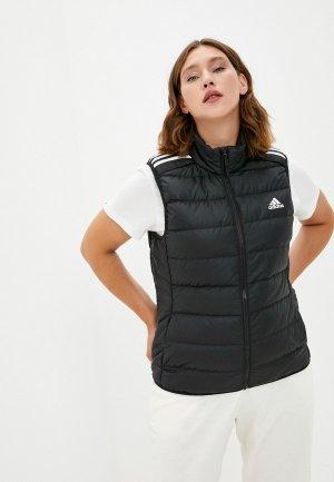 Жилет утепленный adidas W ESS DOWN VES. Цвет: черный