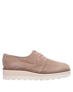 Обувь на шнурках ALBERTO ZAGO. Цвет: голубиный серый