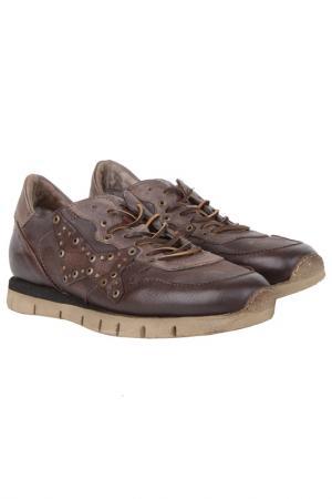 Кроссовки Air Step. Цвет: коричневый