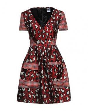 Короткое платье I'M ISOLA MARRAS. Цвет: красный