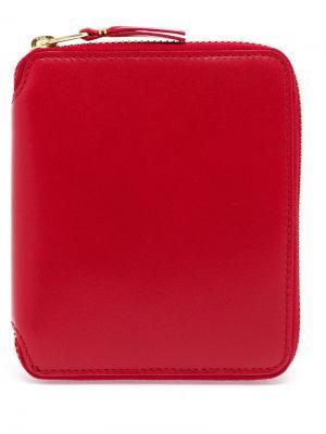 Кошельки и визитницы Comme Des Garçons Wallet. Цвет: красный