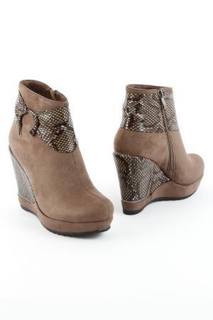 Ботинки 1TO3. Цвет: зеленый