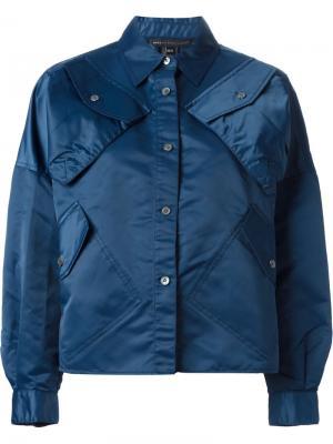 Куртка с карманами Marc By Jacobs. Цвет: синий