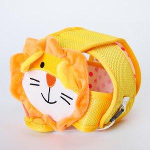 Шапка-шлем противоударный для детей, цвет желтый Крошка Я