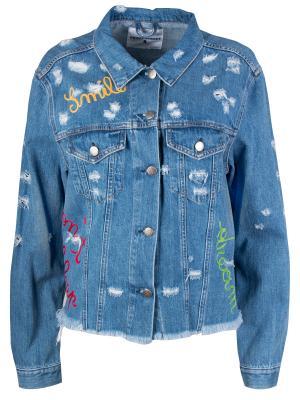 Джинсовая куртка Front Street8. Цвет: разноцветный