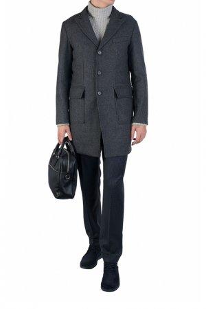 Пальто ADD. Цвет: светло-серый