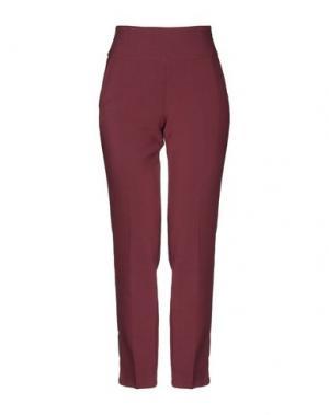 Повседневные брюки ATOS LOMBARDINI. Цвет: красно-коричневый