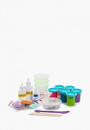 Набор для опытов Dream Makers СлаймБокс большой, Создай слайм, 41 элемент. Цвет: разноцветный