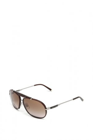 Очки солнцезащитные с линзами DSQUARED. Цвет: 48f коричневый