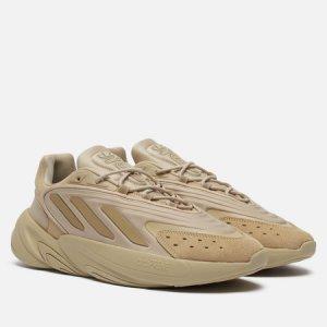 Кроссовки Ozelia adidas Originals. Цвет: бежевый