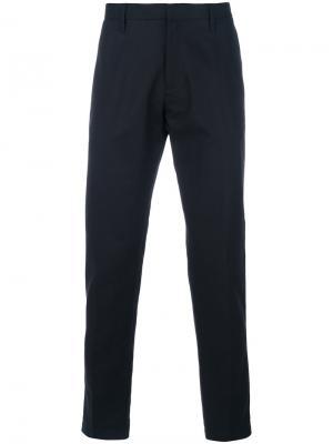 Классические брюки карманами с клапанами Emporio Armani. Цвет: чёрный