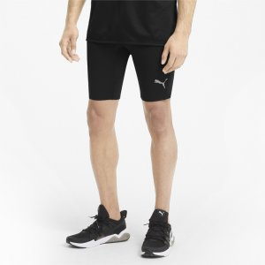 Леггинсы Favourite Mens Short Running Tights PUMA. Цвет: черный