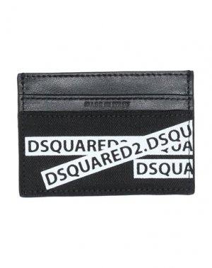 Чехол для документов DSQUARED2. Цвет: черный