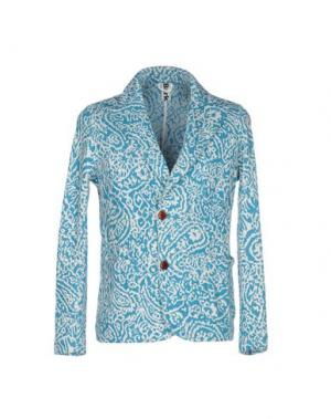 Пиджак BARK. Цвет: бирюзовый