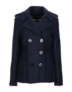 Пальто TOMMY JEANS. Цвет: темно-синий