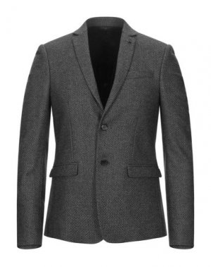 Пиджак PATRIZIA PEPE. Цвет: свинцово-серый