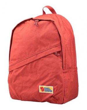 Рюкзаки и сумки на пояс FJALLRAVEN. Цвет: кирпично-красный