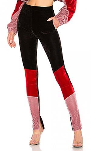 Спортивные леггинсы velvet Frankie B. Цвет: розовый