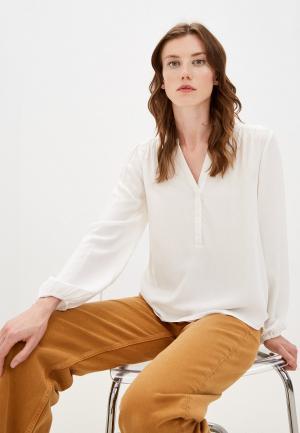 Блуза Jacqueline de Yong. Цвет: бежевый
